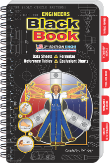 ENGINEERS Black Book- 3rd Edition (INCH) Large Workbench Edition